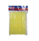 RONNEY Velcro Rollers Geel 32mm