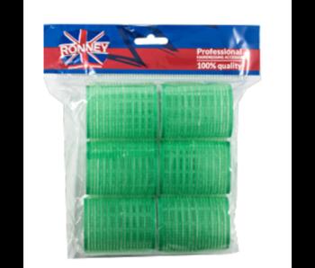 RONNEY Velcro Rollers Groen  48mm