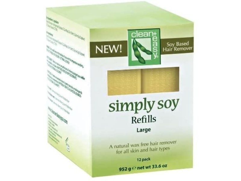Clean + Easy Simply Soy Wax Refills Large 12 Pack