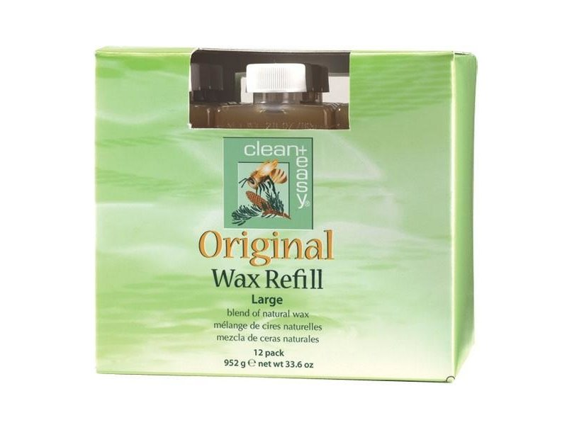 Clean + Easy Original Wax Refill Large 12 Pack