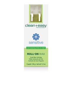 Clean + Easy Sensitive Roll-on Wax 3 pack - Small