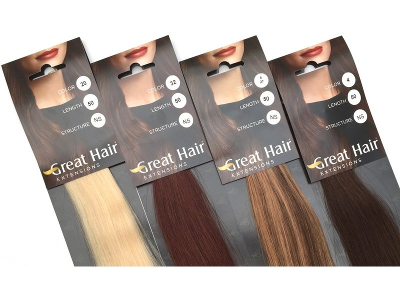 Great Hair Extensions Great Hair Extensions Natural Straight 40cm. 25st.