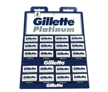 Gillette  Platinum Blades 20x5
