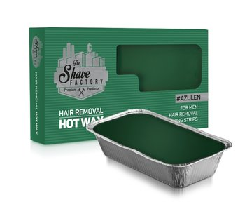The Shave Factory Hot Wax For Men Azulen 500 Gr.
