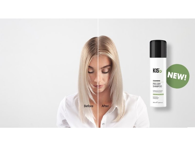 KIS Pro Dry Shampoo DISPLAY