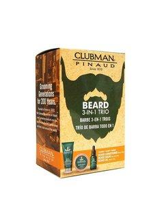Clubman Pinaud 3 pc Beard Pack