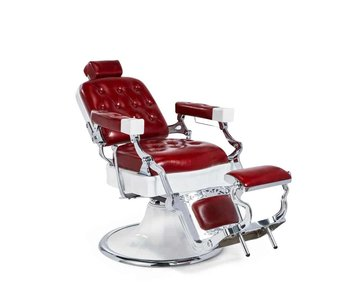 Mirplay Barberchair Jones Red / White