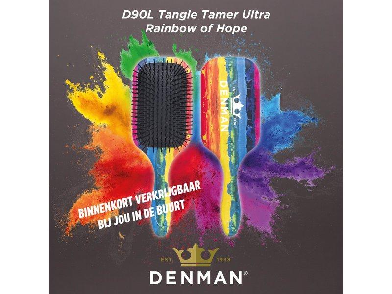 Denman D90L Tangle Tamer Ultra Rainbow