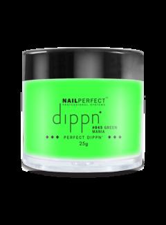 Nail Perfect Dippn Powder #045 Green Mania
