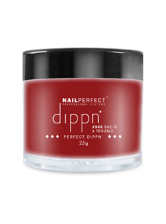 Nail Perfect Dippn Powder #048 She is a Trouble
