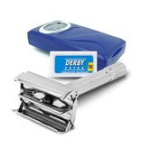 The Shave Factory Classic Safety Razor + 10 Derby Blades