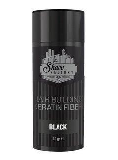 The Shave Factory Hair Building Keratin Fiber 21 Gr. Black