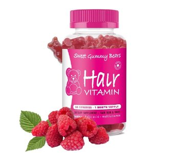 Sweet Gummy Bears  Hair Vitamins 60 Stuks