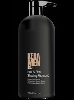 KIS KeraMen Hair & Skin Shaving Shampoo 950ml