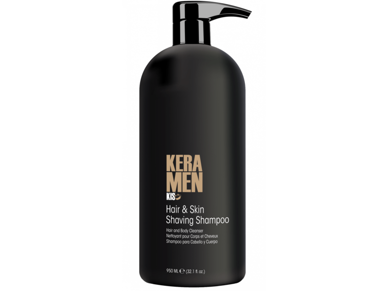 KIS KeraMen Hair & Skin Shaving Shampoo 950ml
