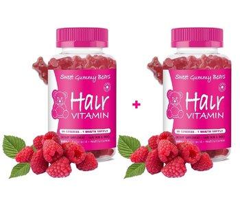 Sweet Gummy Bears  Hair Vitamins 60 Stuks  1+1  Gratis!