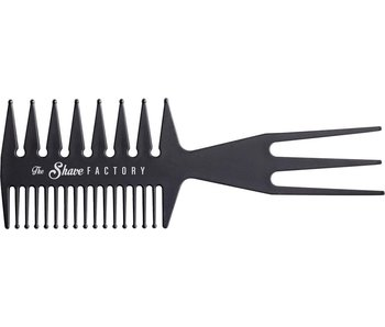 The Shave Factory Antistatic Carbon Comb 034