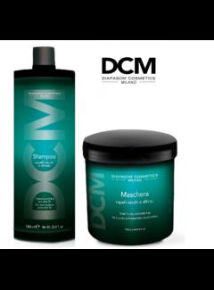 DCM Dry Hair Shampoo / Masker 1000ml Set