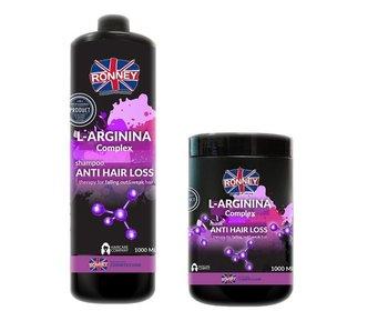 RONNEY L-Arginina Complex Anti Hair Loss Combi Set