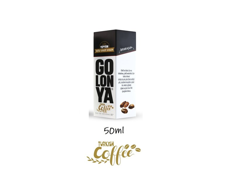 Golonya Eau de Cologne Turkish Coffee 50ml