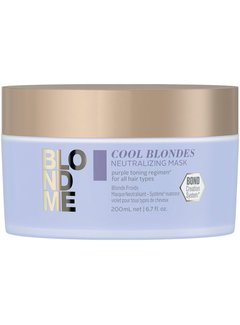 Schwarzkopf BlondMe Cool Blondes Neutralizing Mask 200ml