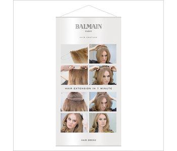 Balmain Banner Hairdress