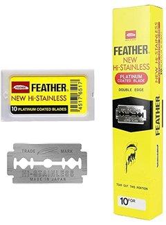 Feather Double Edge Blades 20 x 10 Pakjes Geel