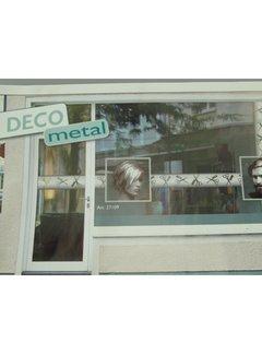 "Trend Design Raam Sticker Smart Deco Metal ""Lady"""