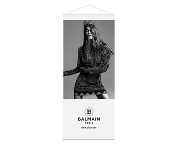 Balmain Banner Lente Zomer 2020 Look  2