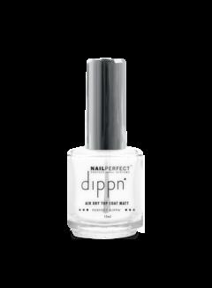 Nail Perfect Dippn' Air Dry Top Coat Matt 15ml