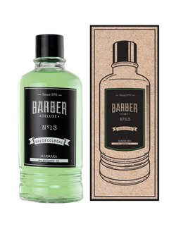 MARMARA BARBER Cologne DELUXE NO13 400ml Glass Bottle - BOXED