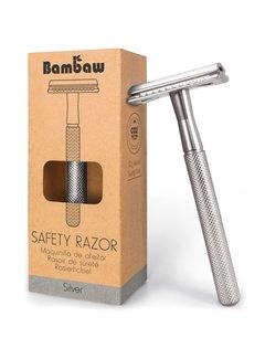 Bambaw Metalen Scheermes SILVER
