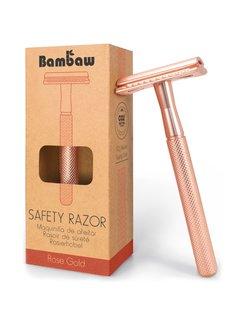 Bambaw Metalen Scheermes ROSE GOLD