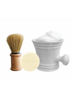 The Shave Factory The Shave Factory Shave Set White Mug