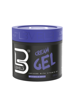 LEVEL3 Cream Gel - Glanzende Haar gel 500ml