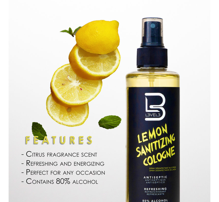 Lemon Sanitizing Spray 250ml