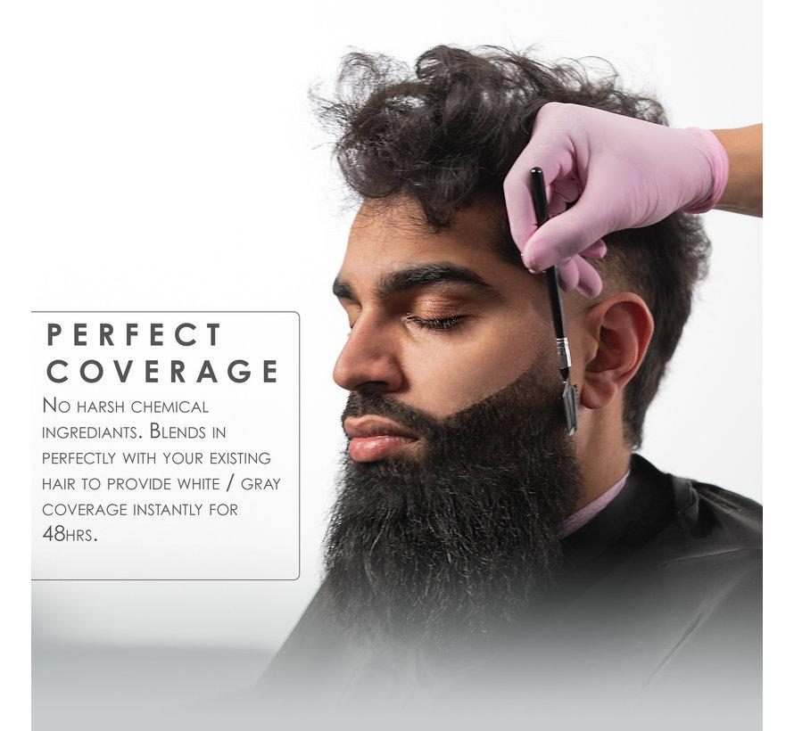Temporary Beard Hair Color Black 125ml