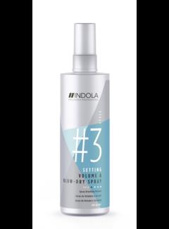 Indola Professional Innova Setting Volume & Blow-dry Spray 200ml