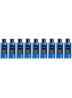 MARMARA BARBER Cologne NO2 Blauw 500ml  Glass Bottle  - 9 STUKS