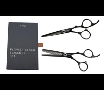 E-Kwip Flower Set Black