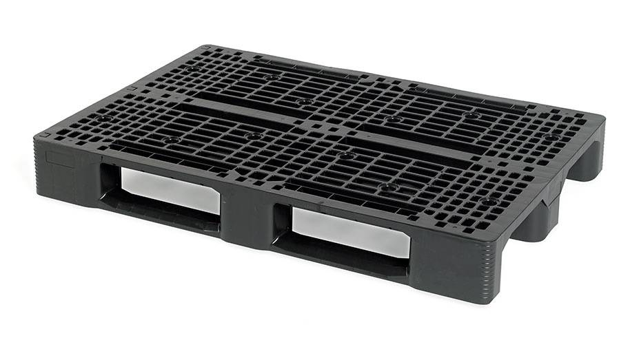 Plastic EURO pallet 1200x800x150 with 3 runners, open deck