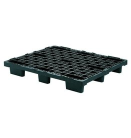 Nestable export pallet 1200x1000x160 mm, open deck