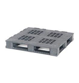 Palette conteneur 1140x1140x165 mm, 6 traverses, ajouré