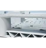 Kunststoff  Eco-Palette 1200x800x150 mm, 3 Kufen, Geschlossenes Deck