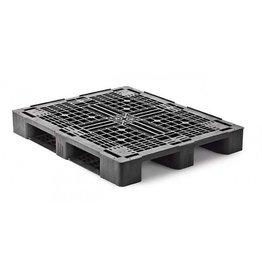 Palette industrielle charge moyenne 1200x1000x160 mm, 3 semelles