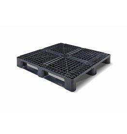 Container-Pallet 1140x1140x156 mm , 3 onderlatten , open