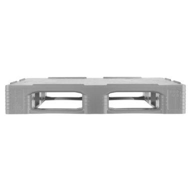 Kunststof Industrie-Pallet 1200x1000x160 mm , 5 onderlatten, Gesloten dek