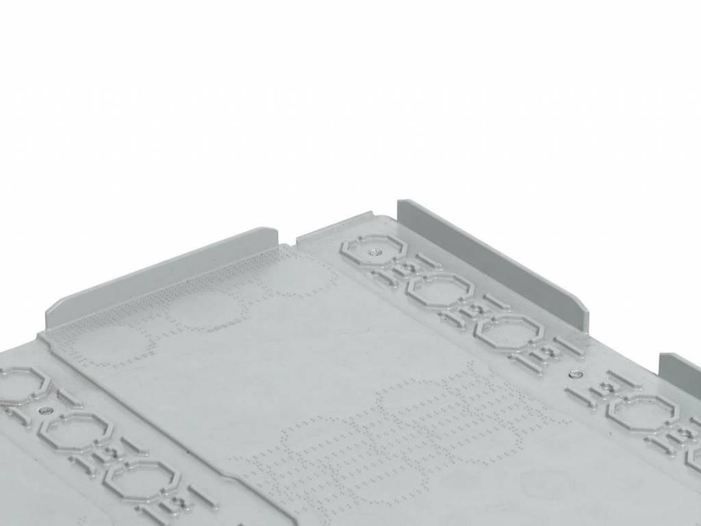 Palette de pooling en plastique 800x600x160, planché fermé, 3 semelles
