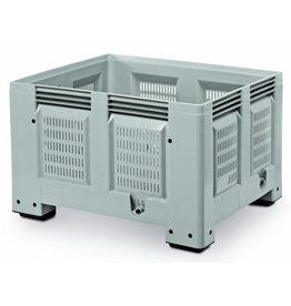Pallet box 1200x1000x760 geperforeerde versie, 4 poten