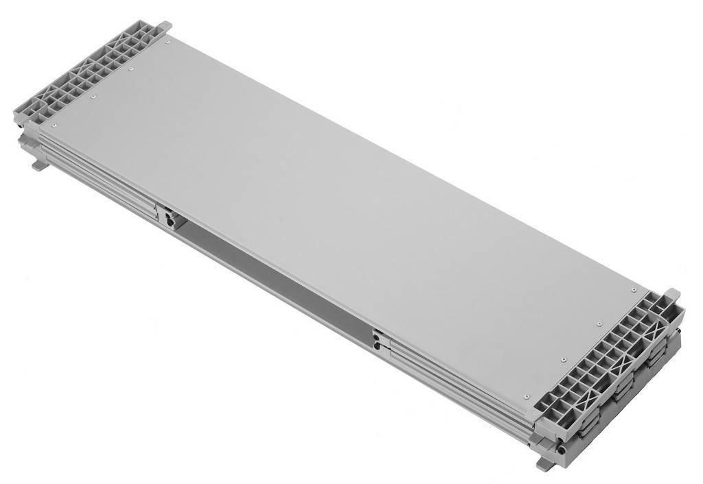 Rehausse palette en plastique 1200x1000x330 mm,  Emballage multi-usage pliable